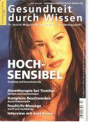 Titelblatt der Zeitschrift Gesundheit durch Wissen