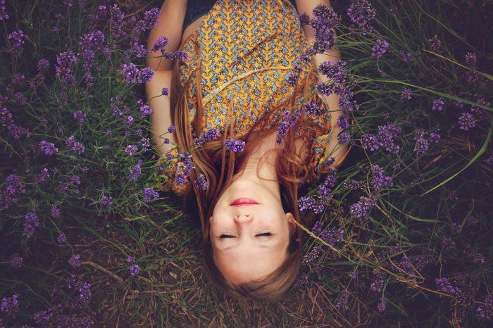 Lavendel Schlaf